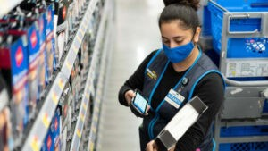 Walmart turns four stores into e-commerce laboratories as online sales surge