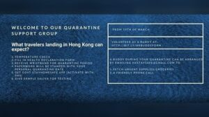How a 30,000-member Facebook group is helping Hong Kong navigate one of the world's longest quarantines