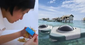 Malaysian students invent device that makes ocean water drinkable for 'sea nomads'